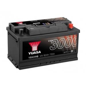 Yuasa 12V 80Ah SMF Battery YBX3110 (0)