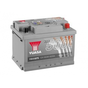 Yuasa 12V 60Ah Silver High Performance Battery YBX5075