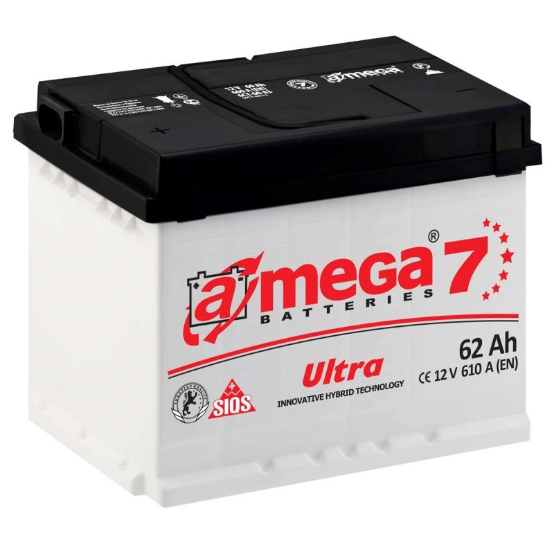 A-MEGA Ultra 62 Ah 610A Euro (0)