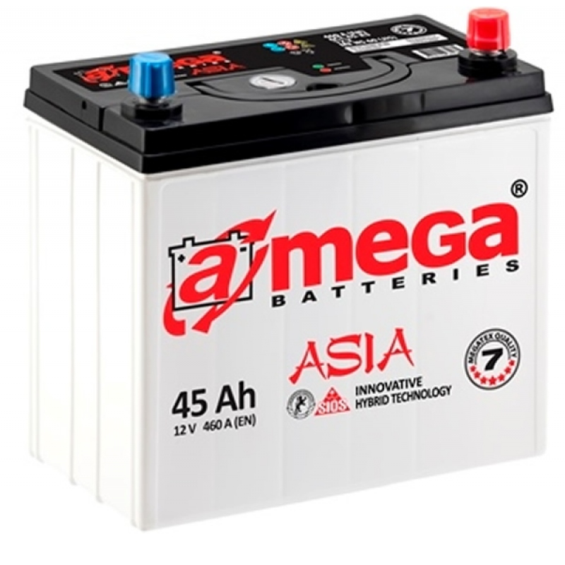 A-MEGA Asia 45 Ah 460A Euro (0)