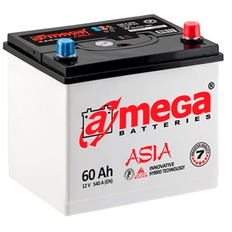 A-MEGA Asia 60 Ah 540A Euro (0)