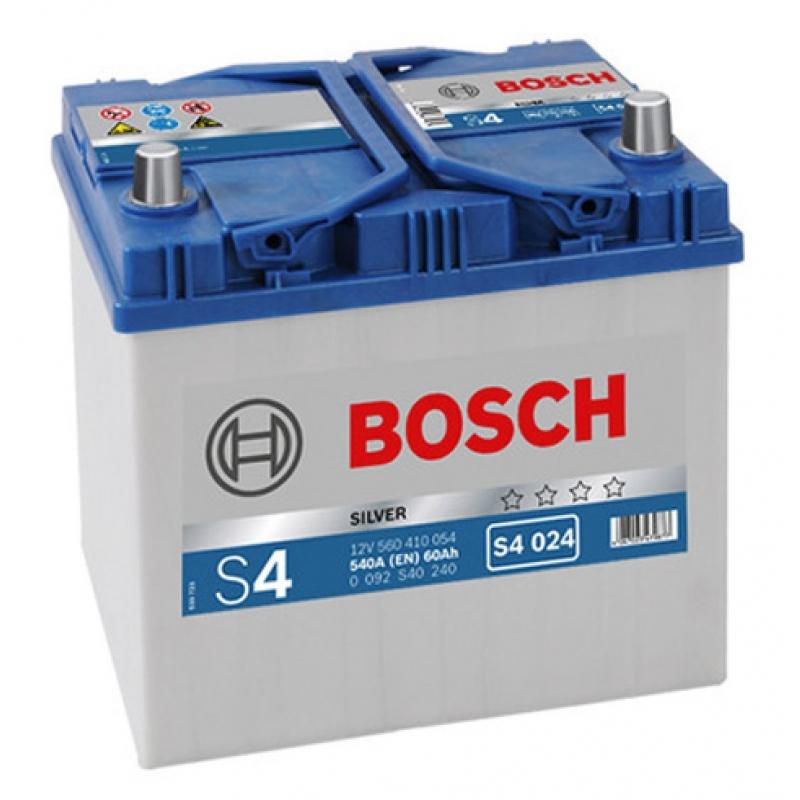 BOSCH 6СТ-60 АЗИЯ Евро (S4024)