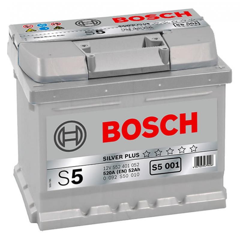 BOSCH 6СТ-52 Евро (S5001)