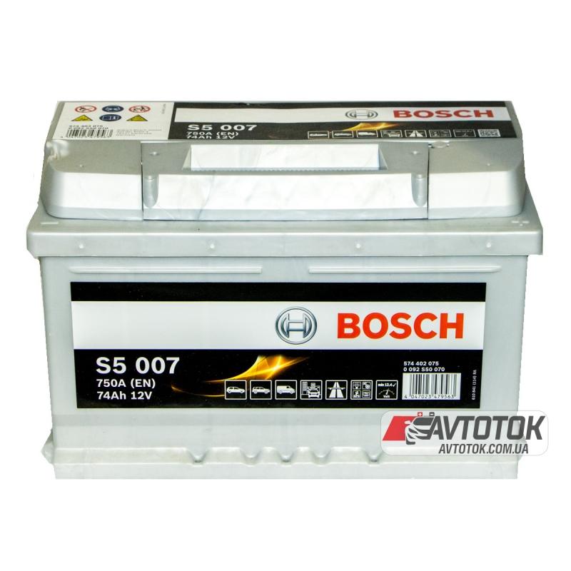 BOSCH 6СТ-74 H Евро (S5007)