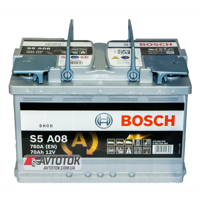 BOSCH 6СТ-70 AGM Евро (S5A08)