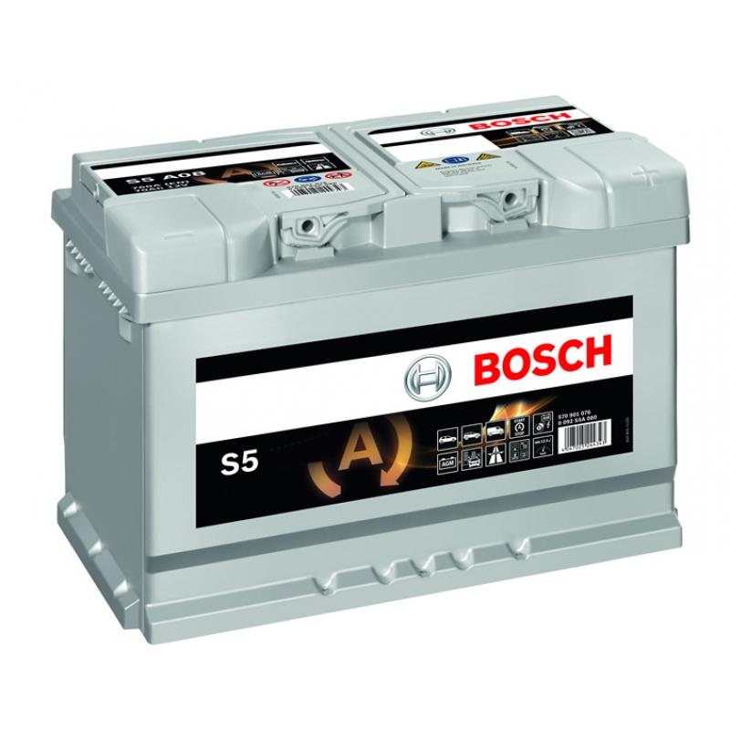 BOSCH 6СТ-80 AGM Евро (S5A11)
