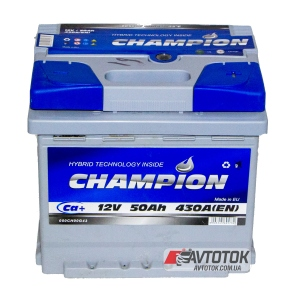 Champion 6CT-50 Ah/12V Euro (0)