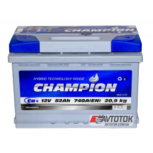Champion 6CT-82 Ah/12V Euro (0)