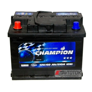 Champion BLACK 6CT-60 Ah/12V (1)