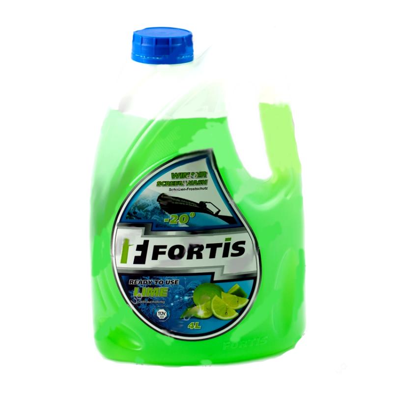 Fortis Winter Screenwash -20 C Lime 4 литра