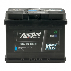 AutoPart GALAXY PLUS 60 Ah/12V Euro (0)