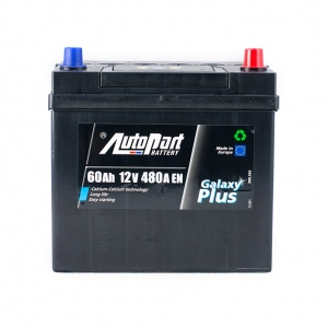 AutoPart GALAXY PLUS Japanese 60 Ah/12V (0)
