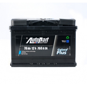 AutoPart GALAXY PLUS 78 Ah/12V Euro (0)
