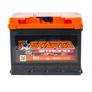 Starta Strong 6CT-62 Аh/12V A3 Euro