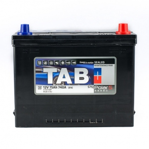 TAB Polar S 75 Ah/12V (0) Euro Japan