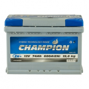 Champion 6CT-74 Ah/12V Euro (0)