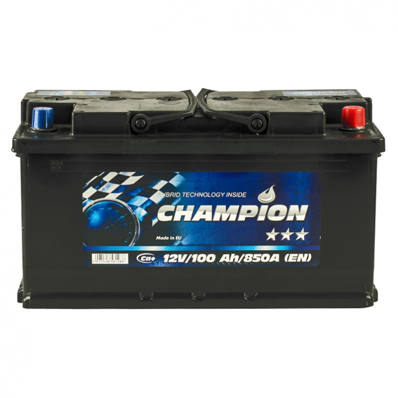 Champion BLACK 6CT-100 Ah/12V Euro (0)