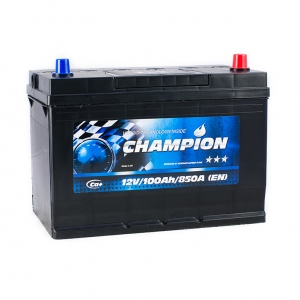 Champion BLACK Japan 6CT-100 Ah/12V Euro (0)