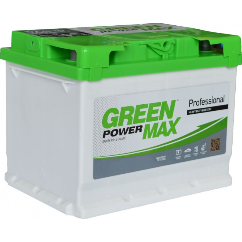GREEN POWER MAX 6СТ-52 Ач (1)