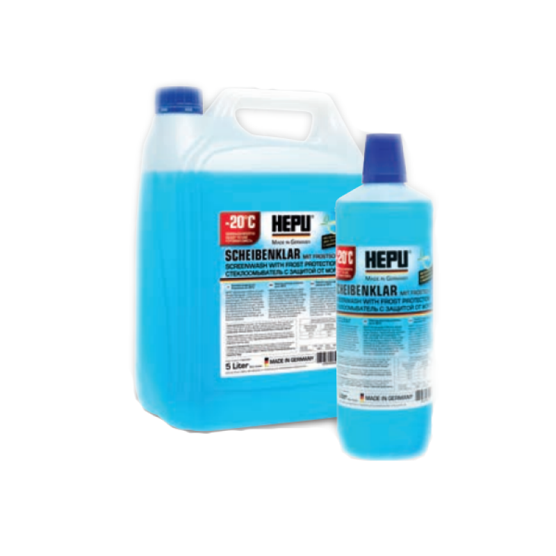 Hepu Winter Screenwash C-20 1 литр
