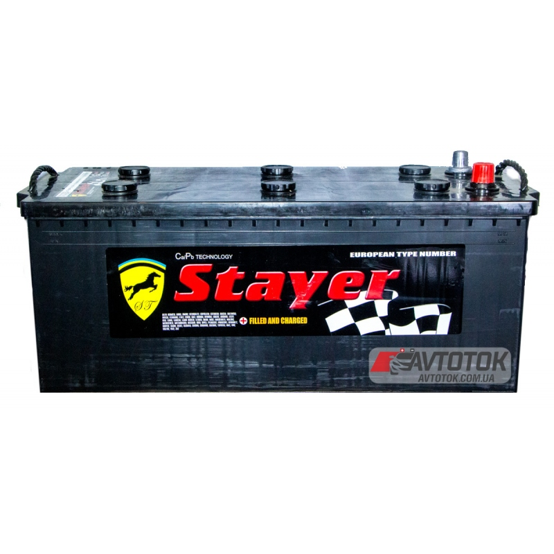 Stayer Black 6CT-225 Ah/12V A1