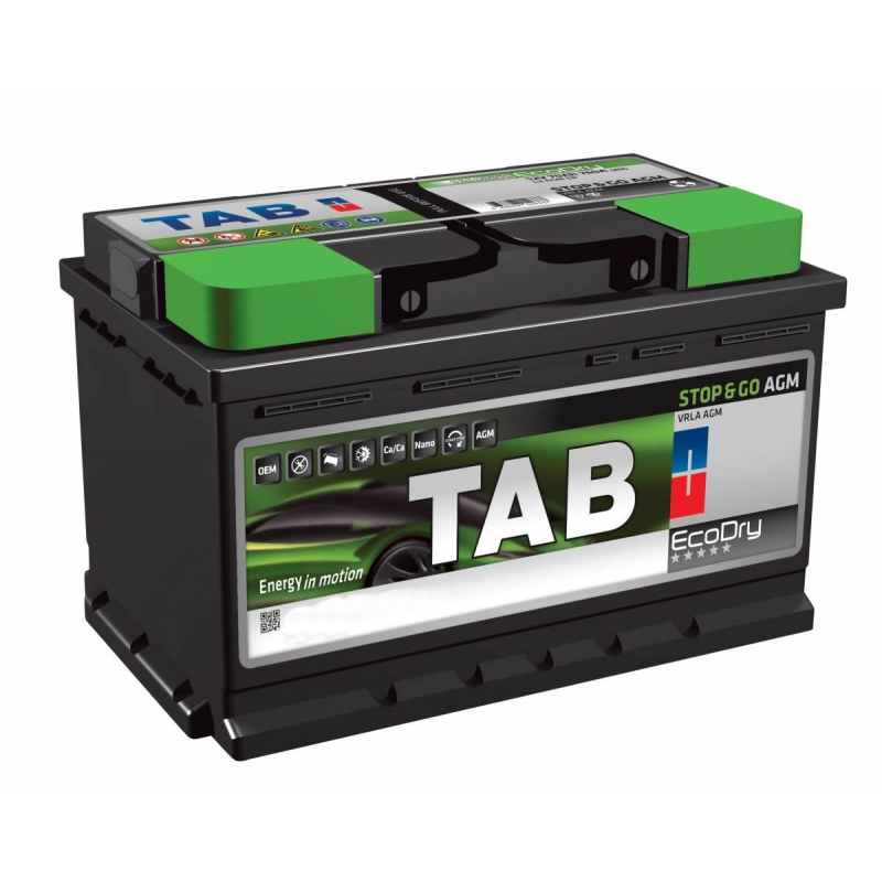 TAB EcoDry Stop & Go AGM 95 Ah/12V Euro (0)