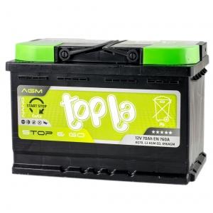 Topla Top AGM Stop & Go 70 Ah/12V Euro (0)