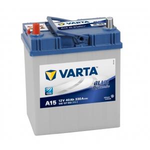 Varta Blue Dynamic 40 Ah 330A ASIA (A15) (1) тонкая клемма