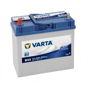 Varta Blue Dynamic 45 Ah 330A ASIA (B33) (1) тонкая клемма