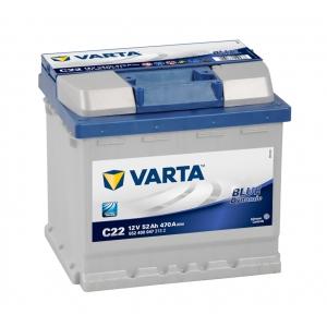 Varta Blue Dynamic 52 Ah 470A (C22) Euro (0)