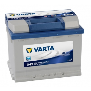 Varta Blue Dynamic 60 Ah 540A (D43) (1)